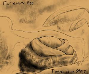 Savan Egg Doodle by JackandDraco
