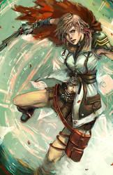 Lightning FFXIII by longai