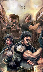 Resident Evil by longai