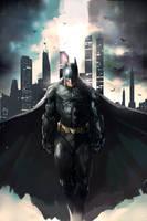Batman-Dark Knight by longai