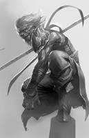 Monkey King sketch by longai