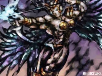 Valkyrie Angel by MikazukiArt
