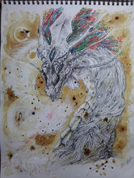 Urik *ART TRADE with tiffawolf* by Naraxir-Art