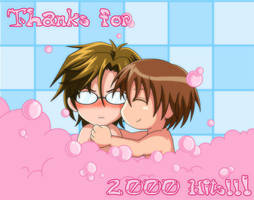 Thanks for 2000 Hits by snowbunnyluv