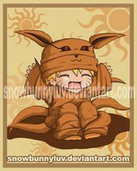 Naruto Ninetails by snowbunnyluv
