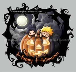 Naruto- Happy Halloween by snowbunnyluv