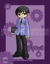 Ouran Host Club- Kyoya by snowbunnyluv