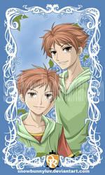 Twins by snowbunnyluv