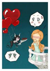 UlquiHime Valentine's Day 2011 by Sarsie