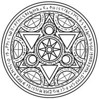Magic Circle - 4 by white--paper