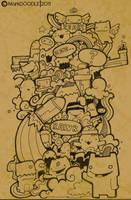 doodle brown by sleepismyheroII