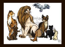 A Big Family by CelticBotan