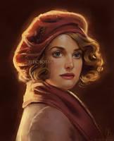 Queenie Goldstein by CelticBotan