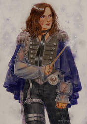 And Yet Another HP!AU, Olivia Benson This Time by CelticBotan