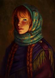 Mathilde (COMMISSION) by CelticBotan