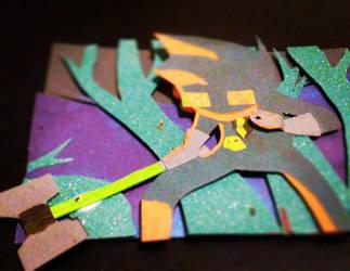 Egbert papercraft by mosum4816