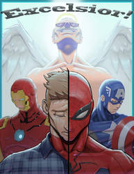 Farewell Stan Lee by Darkremnant