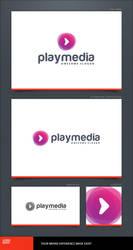 Play Media Logo Template by LogoSpot