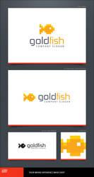 Goldfish Logo Template by LogoSpot
