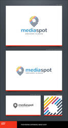 Media Spot Logo Template by LogoSpot
