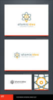 Atomic Idea Logo Template by LogoSpot