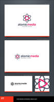 Atomic Media Logo Template by LogoSpot