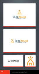 Idea House Logo Template by LogoSpot