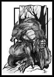 werewolf by misterb18
