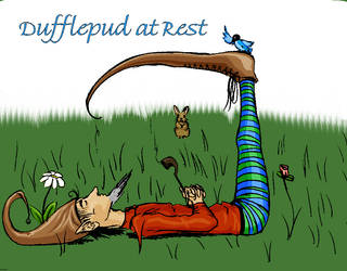 Duffelpud At Rest by skitterer