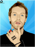 Chris Martin 1 by pixellorac