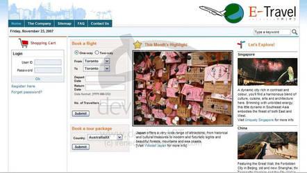 CS3266 Travel website by irenechew