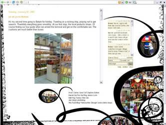 My Blog interface by irenechew