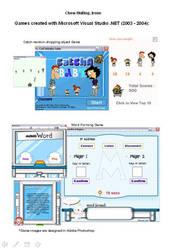 Games using Visual Basic by irenechew