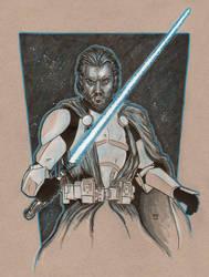 Clone Wars Obi Wan Kenobi By Richard Hennemann by Def-Force
