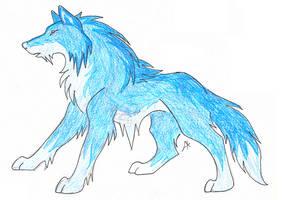 Ice wolf-element contest by AvatarFreak13