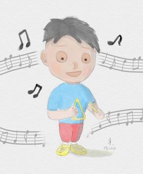 Children's watercolor test by koukisan
