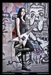 Graffiti Rock VII by Argolith