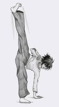 L: Capoeira by zelda-Freak91