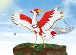 Link's Friendlist: Crimson Loftwing by zelda-Freak91