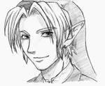 OoT Link sketch by zelda-Freak91