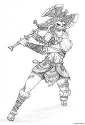 Barbarian Link by zelda-Freak91