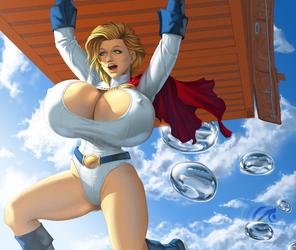 Powergirl having fun by mangrowing