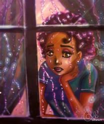 Purple rain by Odhana