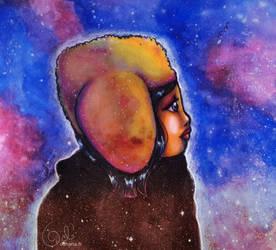 Star cluster by Odhana