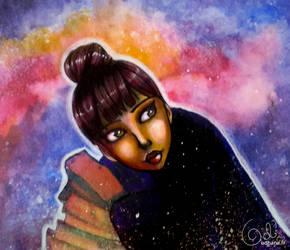 Faye the comet by Odhana