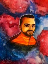 Loic as Mars by Odhana
