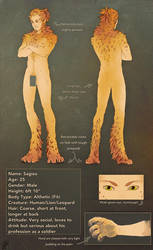 Crocuta1990-Character design :comm: by malikaa