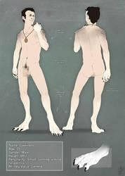 Crocuta1990- Character design 2 by malikaa