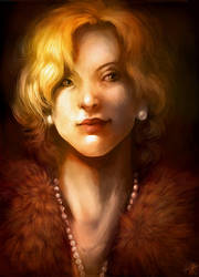 Caroline Portrait by malikaa