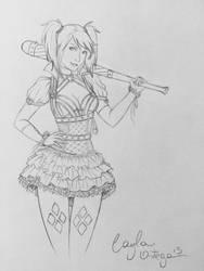 Harley Quinn by caylaortega
